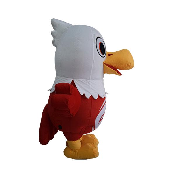 custom mascot malaysia eagle eye hola mascot 4
