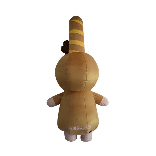 custom mascot pepero lotte girl hola mascot 3