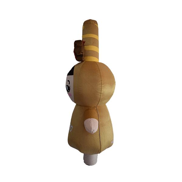 custom mascot pepero lotte girl hola mascot 2