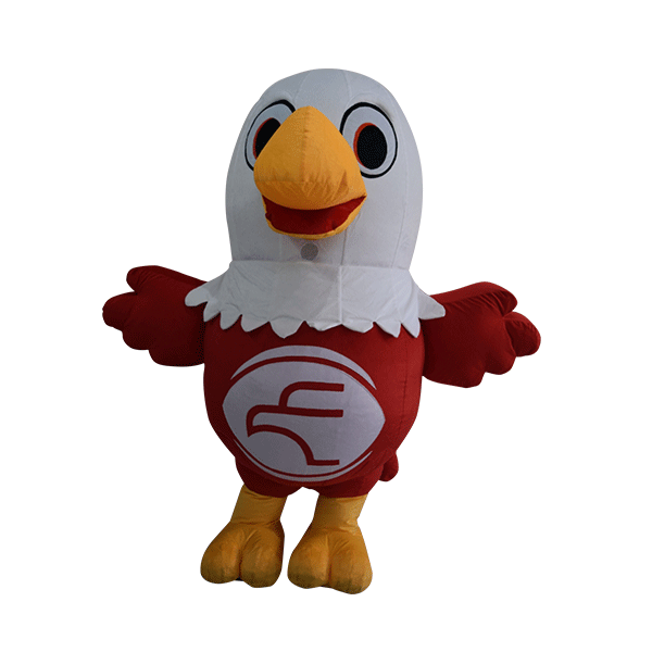 custom mascot malaysia eagle eye hola mascot 2