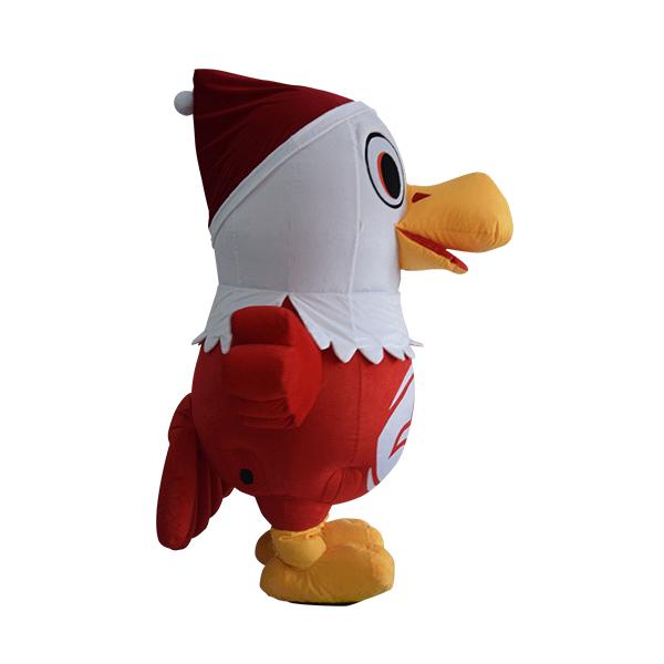 custom mascot malaysia eagle eye christmas hola mascot 4