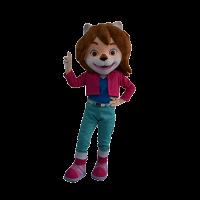 custom made mascot paddlepop leena mascot 5