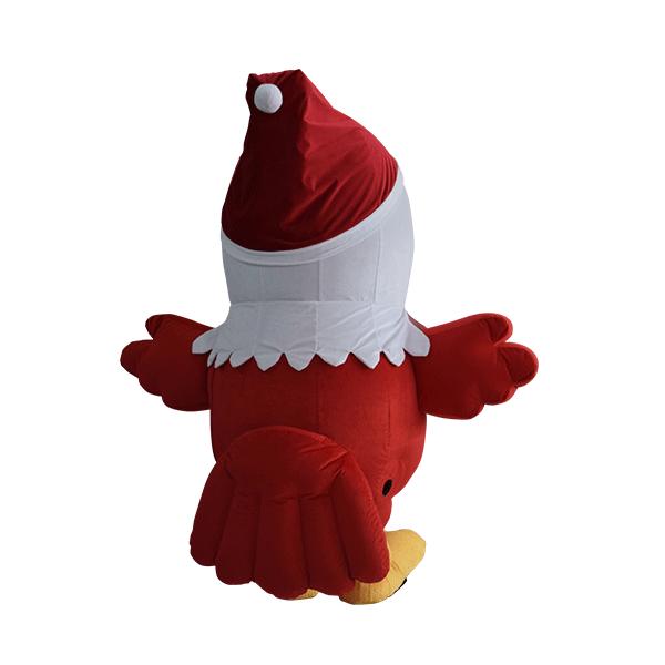 custom mascot malaysia eagle eye christmas hola mascot 3