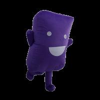 custom mascot malaysia cenviro purple case hola mascot 5