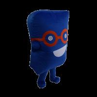 custom mascot malaysia cenviro blue case hola mascot 5