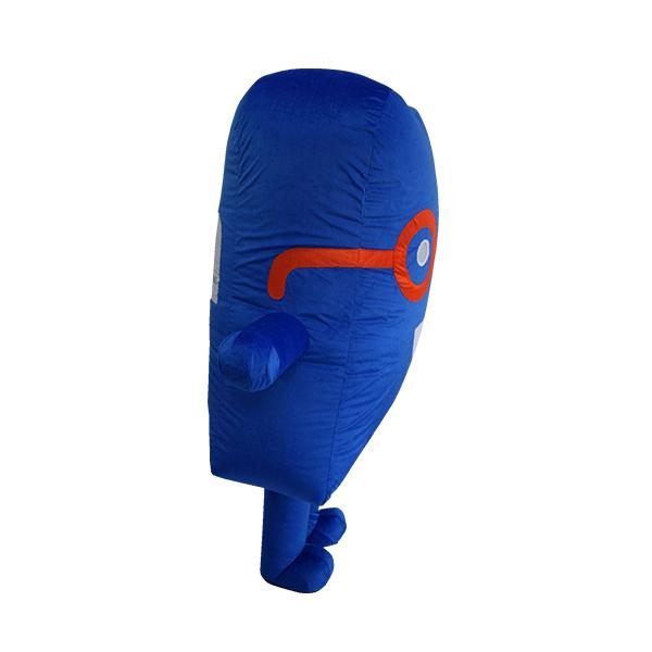 custom mascot malaysia cenviro blue case hola mascot 4