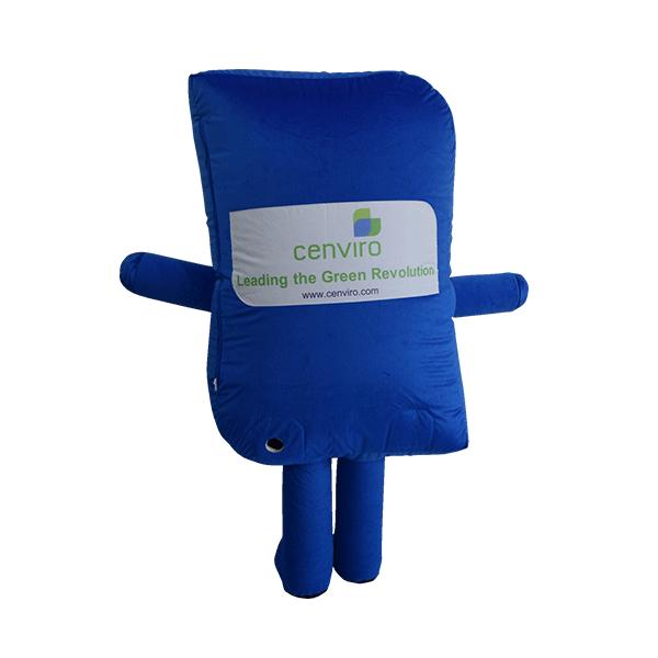 custom mascot malaysia cenviro blue case hola mascot 3