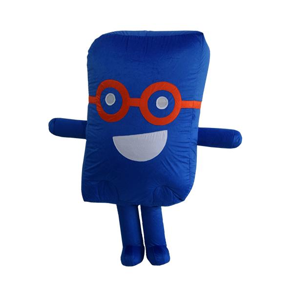 custom mascot malaysia cenviro blue case hola mascot 1