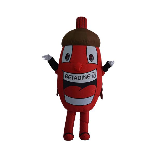 custom mascot malaysia betadine hola mascot 1