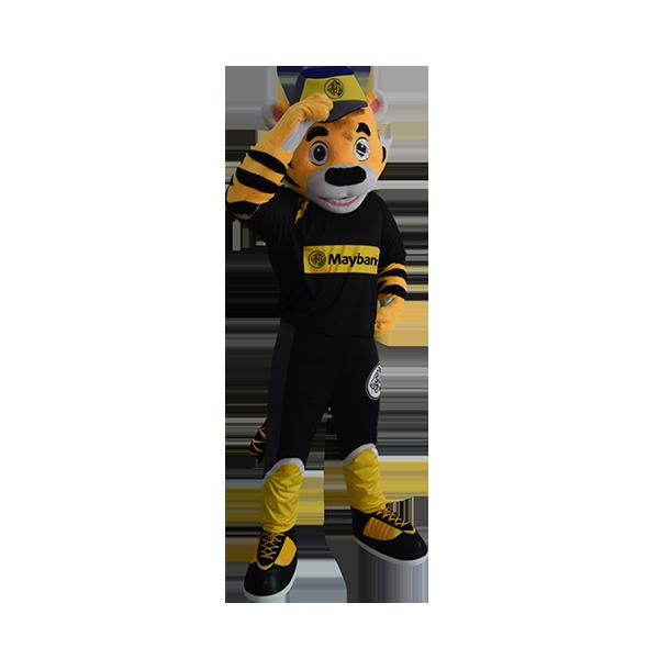 custom mascot malaysia maybank hola mascot 1