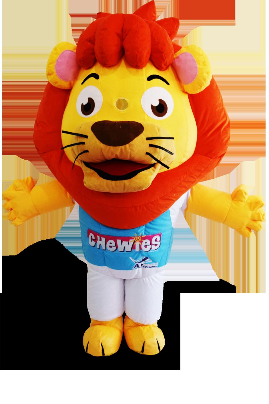 custom made mascot malaysia chewies hola mascot 3