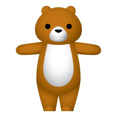 Hola mascot_Bear_front